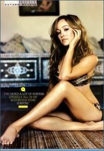 Autumn Reeser on Barefoot Beauties