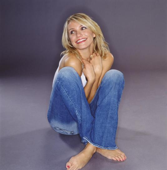 Cameron Diaz on Barefoot Beauties