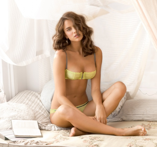 Irina Shayk on Barefoot Beauties