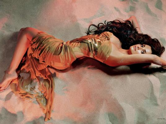 Penelope Cruz on Barefoot Beauties