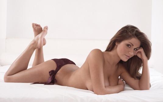 Lucy Pinder soles