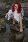Xenya redhead girl sexy feet toes on Barefoot Beauties seagy99.wordpress.com