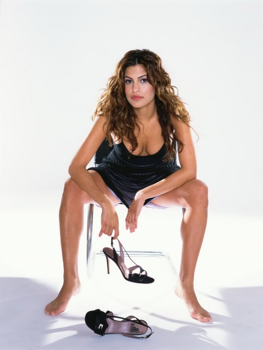 Eva Mendes Feet