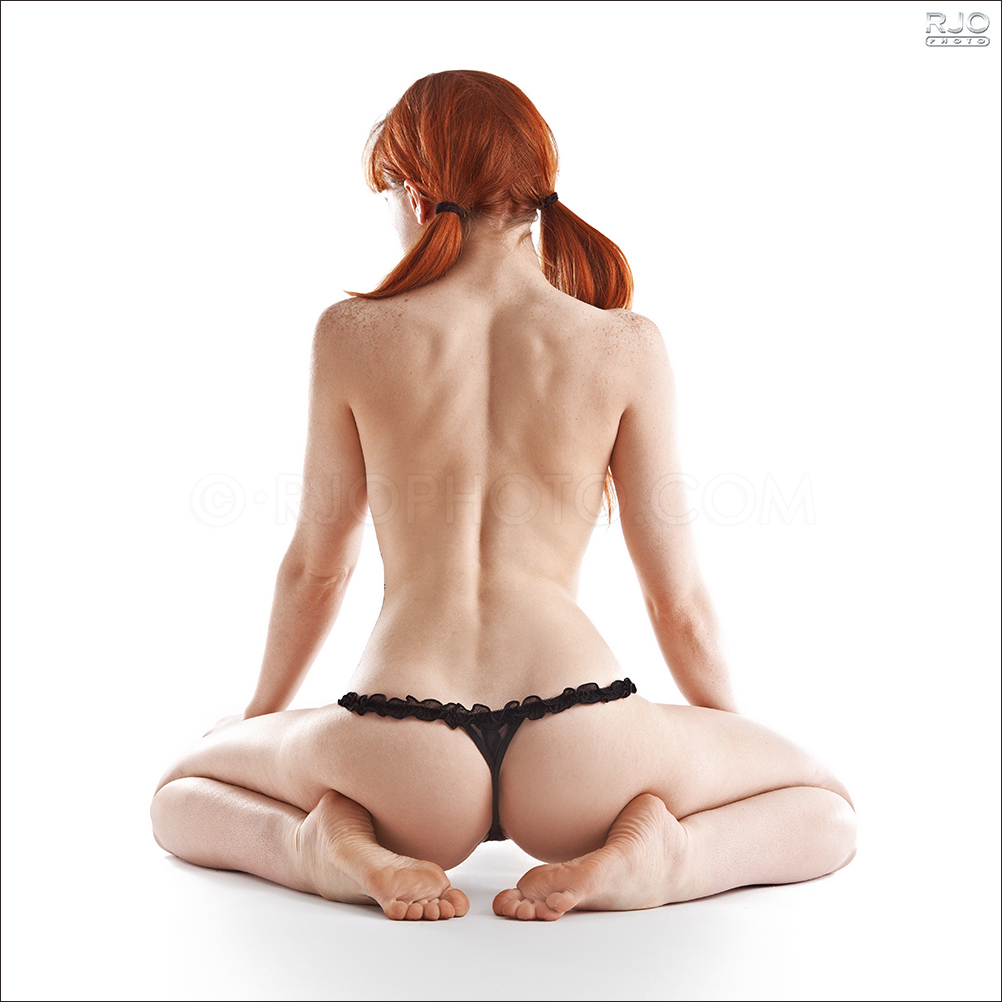Red head ass